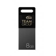 TEAM Flash Disk 8GB M151, USB 2.0, OTG, šedá