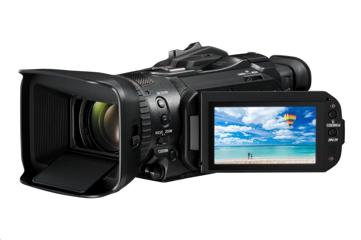 Canon Legria GX10 4K kamera, 15x zoom, Wi-Fi