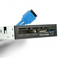 """AXAGON CRI-S3 interní 3.5"""" USB 3.0 5-slot čtečka ALL-IN-ONE"""