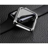 COTEetCI polykarbonátové pouzdro pro Apple Watch 42 mm stříbrné