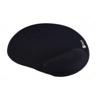 C-TECH Podložka pod myš gelová MPG-03, černá, 240x220mm