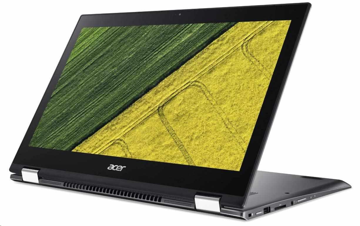 """ACER NTB Spin 5 (SP513-53N-735K) - i7-8565U@1.8GHz,13.3"""" FHD IPS touch,8GB,512SSD,noDVD,Intel HD,čt.prst,backl,HDMI,W10H"""