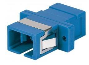Intellinet optická spojka SC-SC, singlemode simplex, modrá