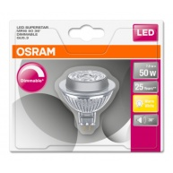 OSRAM LED SUPERSTAR MR16 36° 7,8W 12V 927 GU5.3 621lm 2700K (CRI 90) 25000h A+ DIM (Krabička 1ks)