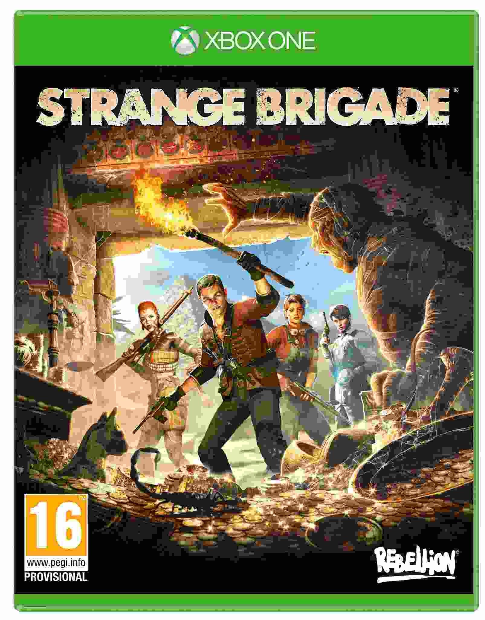 XBOX One hra Strange Brigade