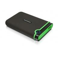 """TRANSCEND externí HDD 2,5"""" USB 3.0 StoreJet 25M3S, 2TB, Black (SATA, Rubber Case, Anti-Shock)"""