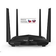 Tenda AC10U Wireless AC1200 Dual Band Router, 1x gigabit WAN, 3x gigabit LAN, 1x USB