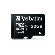 VERBATIM Pro U3 Micro SecureDigital SDHC/SDXC 32GB + SD Adaptér