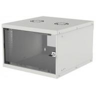 "Intellinet 19"" BASIC rozvaděč 6U/400mm, šedý, rozložený flatpack"