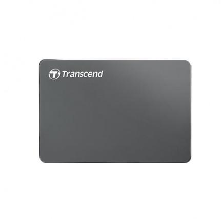 "TRANSCEND externí HDD 2,5"" USB 3.0 StoreJet 25C3N, 1TB, Ultra Slim"