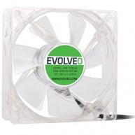 EVOLVEO 14L1BL ventilátor 140mm, 4 LED modrý, 3pin