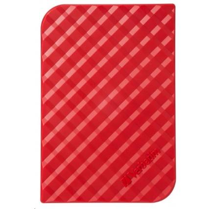 "VERBATIM HDD 2.5"" 1TB Store 'n' Go Portable Hard Drive USB 3.0, Red GEN II"