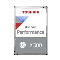 "TOSHIBA HDD X300 6TB, SATA III, 7200 rpm, 128MB cache, 3,5"""