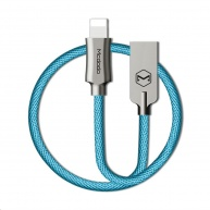Mcdodo Knight Series USB AM To Lightning Data Cable (1.8 m) Blue