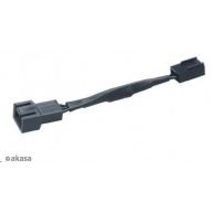 AKASA kabel  redukce otáček pro 3-pin ventilátor