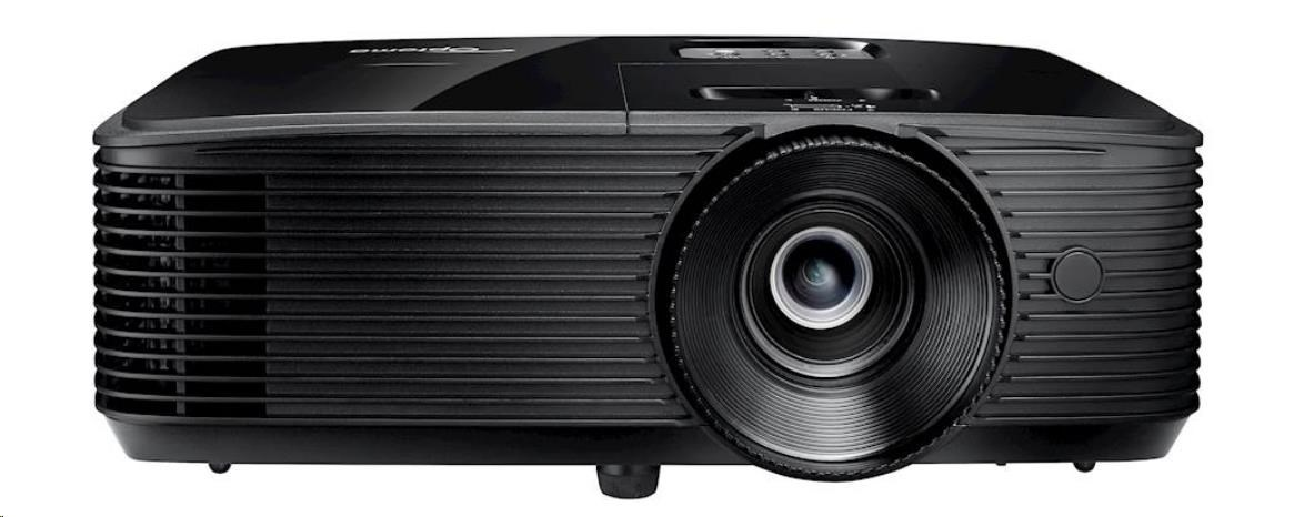 Optoma projektor DS317e (DLP, SVGA, 3 600 ANSI, 20 000:1, HDMI, VGA, USB, Audio, 10W speaker)