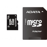ADATA MicroSDHC karta 16GB Class 4 + SD adaptér