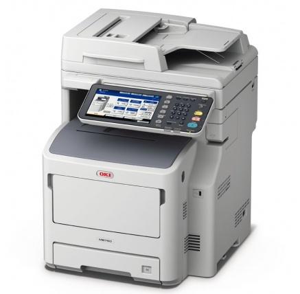 Oki MB760dnfax A4, 47 ppm 1200x1200 dpi, 160GB HDD, 2GB RAM, RADF, PCL, USB2.0, LAN (Print/Scan/Copy/Fax)
