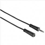 Hama predlžovací audio kábel jack 3,5 mm stereo, 1*, 3 m