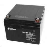 Baterie - FUKAWA FWL 24-12 (12V/24 Ah - M5), životnost 10let