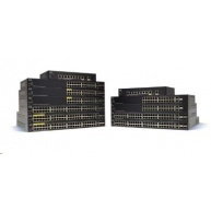 Cisco switch SG350-10SFP-K9-EU - 8xSFP, 2xGbE/SFP