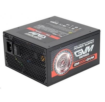 ZALMAN ZM1000-GVM - zdroj 1000W 80+ Bronze ATX12V 2.3 aPFC 14cm fan, modular