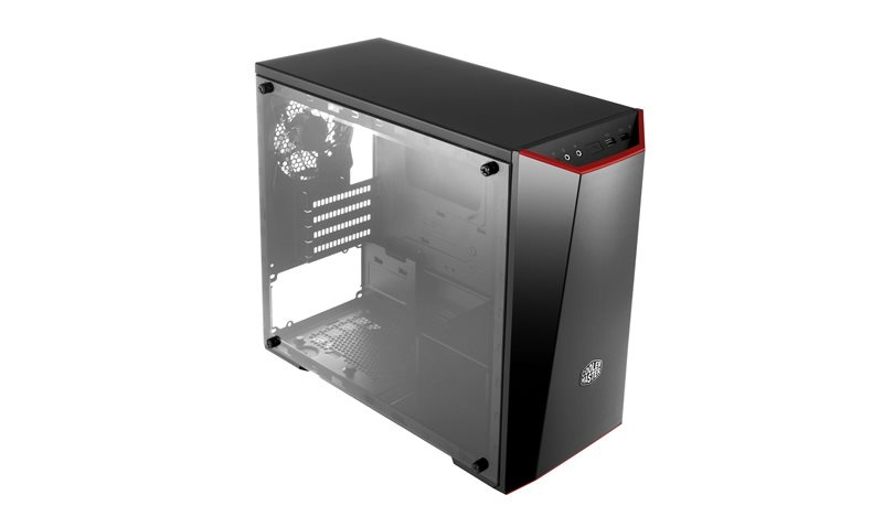case Cooler Master MasterBox Lite 3.1, microATX,black, USB3.0, bez zdroje